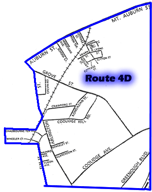 Route 4D Patrol Map