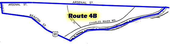 Route 4B Patrol Map