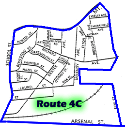 Route 4C Patrol Map