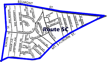 Route 5C Map