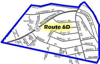 Route 6D Map